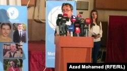 منسق مركز مترو رحمن غريب في كلمة عن حرية الصحافة