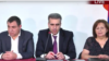 Դատավորների միության նախագահ, Վճռաբեկ դատարանի նախագահ Երվանդ Խունդկարյանը ներկայացնում է Դատավորների ընդհանուր ժողովի արդյունքները, Երևան, 11-ը հուլիսի, 2019թ․