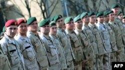 Македонска единица пред заминување за Авганистан