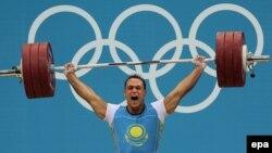 Илья Ильин Лондон олимпиадасы кезінде.