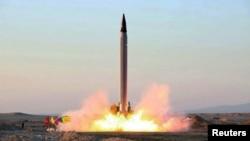 Ракетныя выпрабаваньні ў Іране ў кастрычніку 2015 году