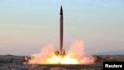 Ракетное испытания в Иране, 11 октября 2015 года