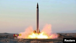 An Iranian Emad rocket was launched from an undisclosed location in October.