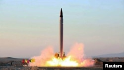 An Iranian Emad rocket launch (file photo)