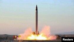 Foto e shpërndarë nga raketa e lansuar më 11 tetor, 2015