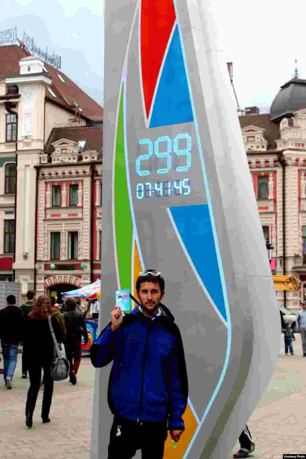 Казан һәм дөньяның яшь спортчылары Универсиадага калган көннәр һәм сәгатьләрне саный