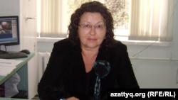 Ирина Смирнова, директор школы-гимназии № 48 города Алматы. Алматы, 27 сентября 2012 года.