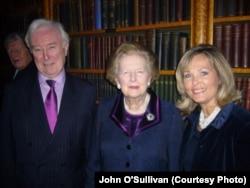 Тэтчер маргарет O'Салливан Джонца а , цуьнан хlусамненца Мелиссица а Лондонерчу Реформан клубехь, Чил2009