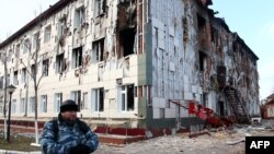 Такі наслідки вибивання кількох бойовиків зі шкільної будівлі, Грозний, 5 грудня 2014 року