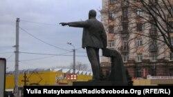 Пам'ятник Леніну у Дніпропетровську, 11 листопада 2015 року