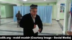 Президентские выборы в Узбекистане. Избирательный участок в Андижанской области, 2015 год.