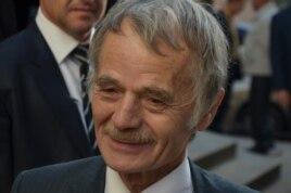 Қырым татарларының лидері Мұстафа Жемилев.