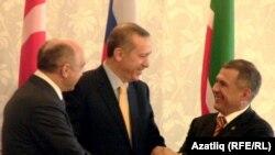 Сулдан уңга - Илшат Гафуров, Рәҗәп Тайип Эрдоган, Рөстәм Миңнеханов