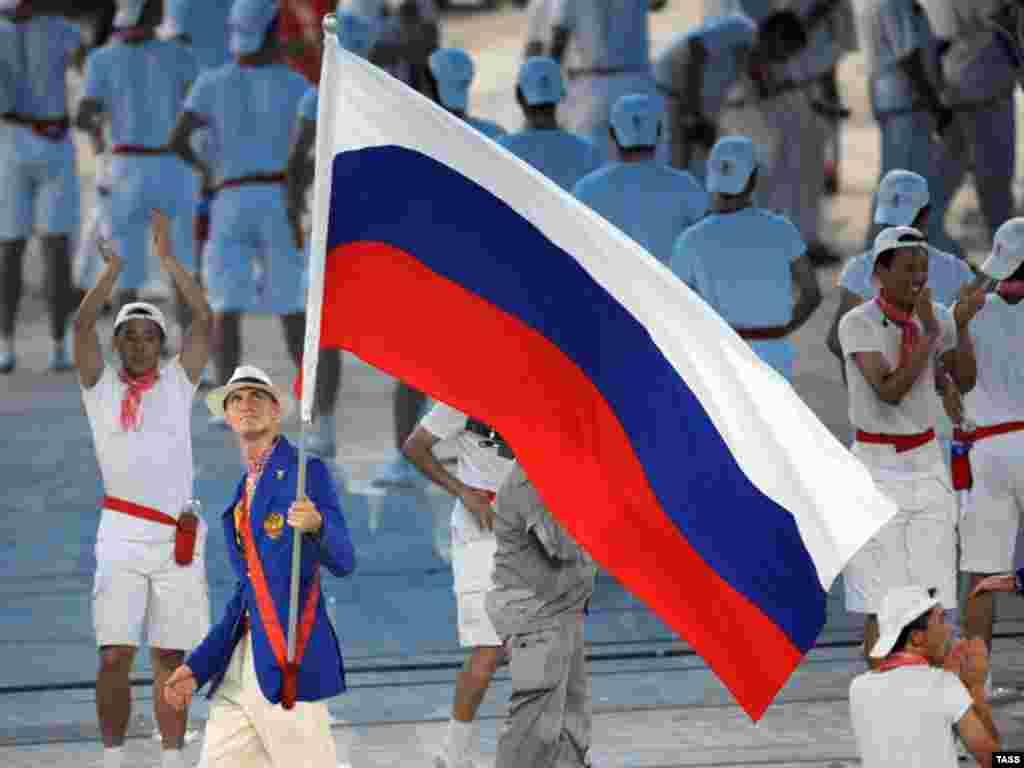 کاروان روسیه، که مدعی قهرمانی در این رقابت ها است.
