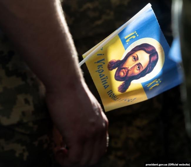 Під час відзначення 1030-річчя хрещення Русі-України, коли була проведена хресна хода «За єдину помісну церкву». Київ, 28 липня 2018 року