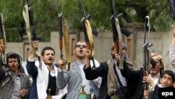 شورشیان حوثی تحت حمایت ایران در ساحه صعده یمن تسلط دارند.