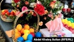من تقاليد احتفال الايزديين بعيد راس السنة