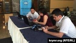 Делегаты Всемирного конгресс крымских татар, архивное фото