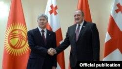 Кыргызстан жана Грузия президенттери.