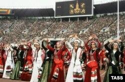Адкрыцьцё Алімпійскіх гульняў у Маскве, 1980