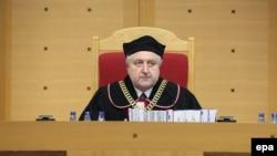 Голова Конституційного трибуналу Польщі Анджей Жеплінський оголошує вердикт, Варшава, 9 березня 2016 року
