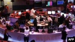 نمای عمومی از تحریریه تلویزیون الجزیره در قطر