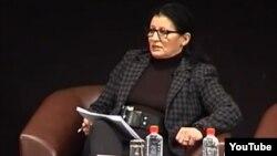 Даница Павловска, претседател на Асоцијацијата на архитекти на Македонија.