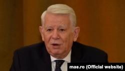 Teodor Meleșcanu a confundat un summit (al șefilor de stat și de guvern) cu un consiliu de asociere (ministerial).