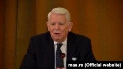 """N.C.Munteanu despre Teodor Meleșcanu (foto) """"Dacă iei de bun doar comunicatul american, nu ești sigur că la întâlnire a participat și Meleșcanu și, dacă a participat, ce a înțeles din ce s-a discutat"""""""