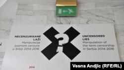 Beograd: Izložba 'Necenzurisane laži'