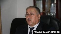 Нусратулло Салимзода, министр здравоохранения и социальной защиты населения Таджикистана.