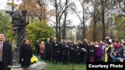 Відкриття пам'ятника Тарасу Шевченку, Рига, 6 листопада 2015 року