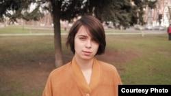 Russia--Anna Kamyshan, Kharkov student, 14Apr2012