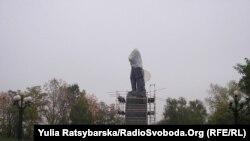 Пам'ятник Шевченку, реконструкція 19.10.2011 Дніпропетровськ