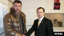Борис Немцов и Владимир Мединский
