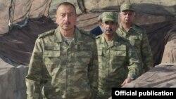 İlham Əliyev Ağdamda
