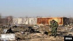سقوط طیاره مسافربری اوکراینی در خاک ایران