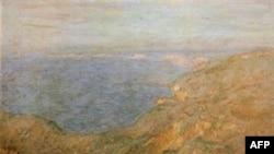 Клод Моне. «Утес вблизи Дьеппа». 1882 год