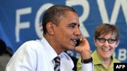 АҚШ президенті Барак Обама. Чикаго, 6 қараша 2012 жыл.
