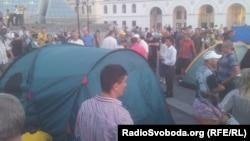 Протест врадіївців проти свавілля міліції, Київ, фото 18 липня 2013 року