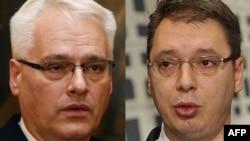 Ivo Josipović i Aleksandar Vučić