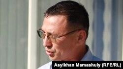 Адвокат Мұхтар Әлібиев. Ақтау, 19 сәуір 2012 жыл.