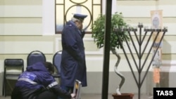 Pogrom in Hasid Synagoge in Moscow