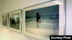 یکی از نمایشگاههای عکس نیوشا توکلیان که در آلمان برگزار شد.