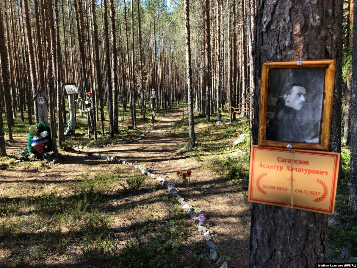 In Russia's North, A Gulag Grave Site, A Child-Abuse Trial, And A Battle Over Historical Truth