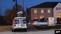 Автомобиль на улице в штате Висконсин.