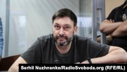 Глава «РИА Новости-Украина» Кирилл Вышинский в суде