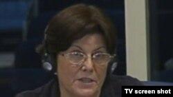 Eva Tabo u sudnici, 26. travnja 2012.
