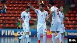 تیم ملی فوتسال ایران در تایلند