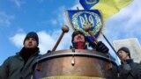 Проголошення Акту злуки УНР та ЗУНР 22 січня 1919 року на Софійському майдані в Києві